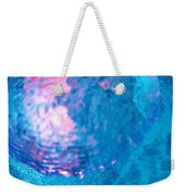 My Reflection In A Divers Bubble Weekender Tote Bag