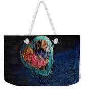 My Rough Imperfect Heart Weekender Tote Bag