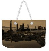 My Sea Of Ruins IIi Weekender Tote Bag by Marco Oliveira