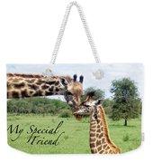 My Special Friend Weekender Tote Bag