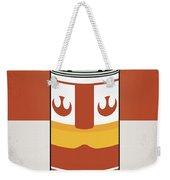 My Star Warhols Luke Skywalker Minimal Can Poster Weekender Tote Bag