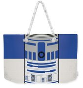 My Star Warhols R2d2 Minimal Can Poster Weekender Tote Bag
