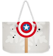 My Superhero Ice Pop - Captain America Weekender Tote Bag