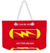 My Superhero Pills - The Flash Weekender Tote Bag by Chungkong Art