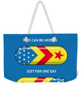 My Superhero Pills - Wonder Woman Weekender Tote Bag