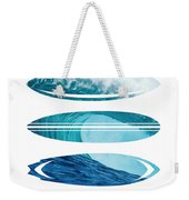 My Surfspots Poster-6-todos-santos-baja Weekender Tote Bag by Chungkong Art