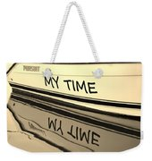 My Time Boat Name Weekender Tote Bag