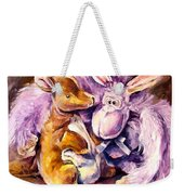 My Toys - Palette Knife Oil Painting On Canvas By Leonid Afremov Weekender Tote Bag