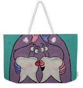 My Two Front Teeth Weekender Tote Bag by Anthony Falbo