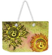 My Two Suns Weekender Tote Bag