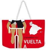 My Vuelta A Espana Minimal Poster 2014 Weekender Tote Bag