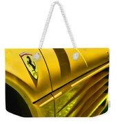 My Yellow Ferrari Weekender Tote Bag