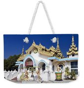 Myanmar Buddhist Temple Weekender Tote Bag