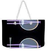 Myopia Or Short Sightedness Poster Weekender Tote Bag