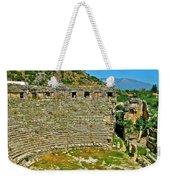 Myra's Roman Theatre In Fourth Century-turkey Weekender Tote Bag