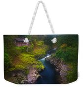 Mysteries Of The Lewis House Weekender Tote Bag by Darren  White