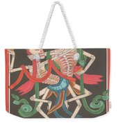Mysterious Art Thanka Nepal Painting Dance Od Shiva Shakti Folk Traditional India  Weekender Tote Bag