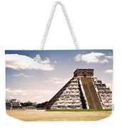Mysterious Chichen Itza Weekender Tote Bag