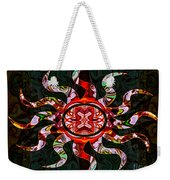 Mysterious Circumstances Abstract Sun Symbol Artwork Weekender Tote Bag