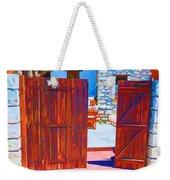 Mysterious Courtyard Weekender Tote Bag