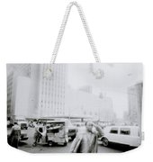 Mysterious New York Weekender Tote Bag