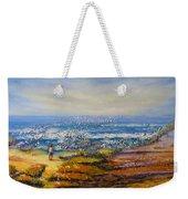 Mysterious Ocean Beach Rocks Weekender Tote Bag