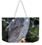 Mysterious Owl Weekender Tote Bag
