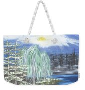 Mysterious  Trees Weekender Tote Bag