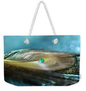 Mysterious Turquoise Weekender Tote Bag