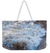 Mysterious Wave Weekender Tote Bag