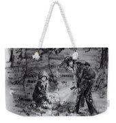 Mystery At Memorial Gardens Weekender Tote Bag
