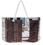 Mystery Courtyard Weekender Tote Bag