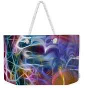 Mystery Of Light -square Version Weekender Tote Bag