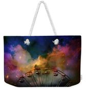 Take A Mystery Ride In The Multicolored Clouds Weekender Tote Bag