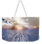 Mystery Sea Weekender Tote Bag