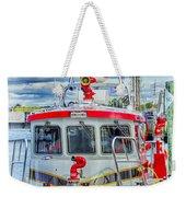 Mystic Fireboat Weekender Tote Bag