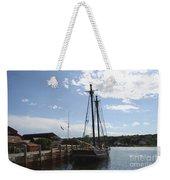 Mystic Harbor - Ct Weekender Tote Bag