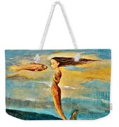 Mystic Mermaid IIi Weekender Tote Bag