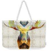 Mystic Moose Art By Sharon Cummings Weekender Tote Bag