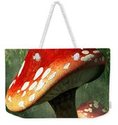 Mystic Mushroom Weekender Tote Bag