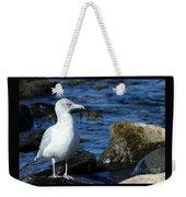 Mystic Seagull Weekender Tote Bag
