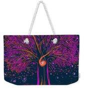Mystic Spiral Tree 1 Pink By Jrr Weekender Tote Bag