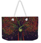 Mystic Spiral Tree Red By Jrr Weekender Tote Bag