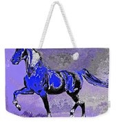 Mysterious Stallion Abstract Weekender Tote Bag