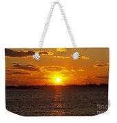 Mystic Sunset Weekender Tote Bag