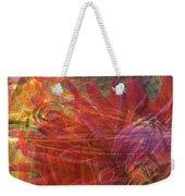 Mystical Dahlia Weekender Tote Bag