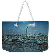 Mystical Harbor Weekender Tote Bag