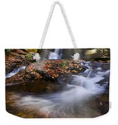 Mystical Pool Weekender Tote Bag by Debra and Dave Vanderlaan