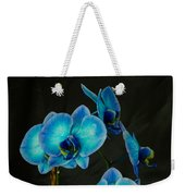 Mystique Blue Orchids Weekender Tote Bag
