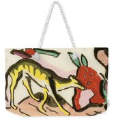 Mythical Animal  Weekender Tote Bag by Franz Marc
